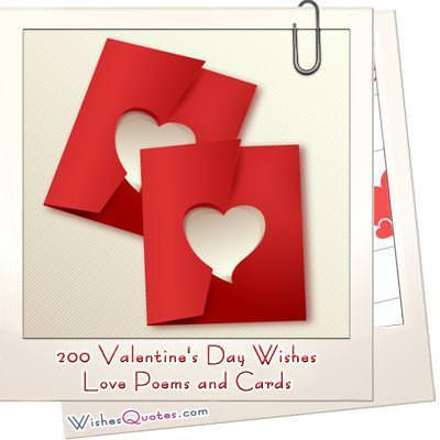 200 Valentines Day Wishes Heartfelt Love Poems Romantic Cards – Valentines Day Poems for Cards