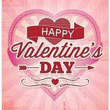 Big happy valentines card