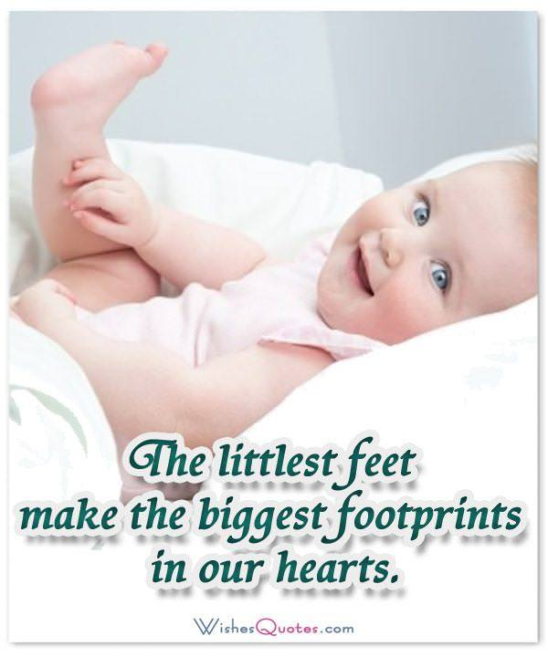 Adorable Newborn Baby Quote