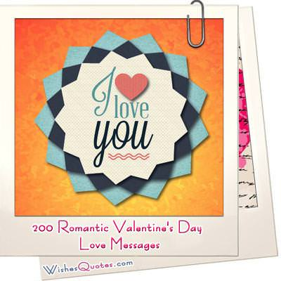 A Romantic Collection with 200 Love Messages  Images to Choose