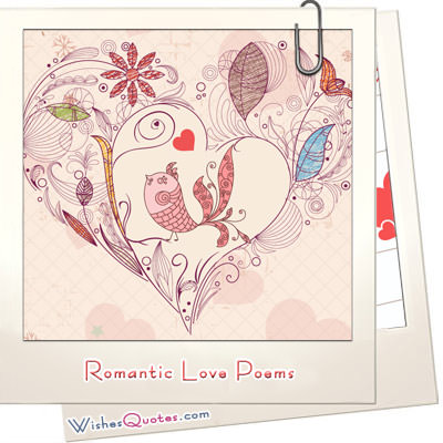 Romantic love poems featured image
