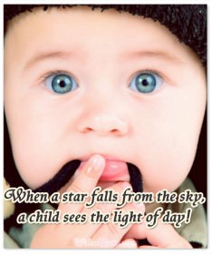 Star falls baby quote