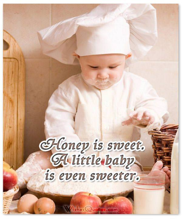 sweet-baby-quote. Adorable Newborn Baby Quote