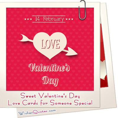 Sweet Valentine's Day Love Cards for Someone Special