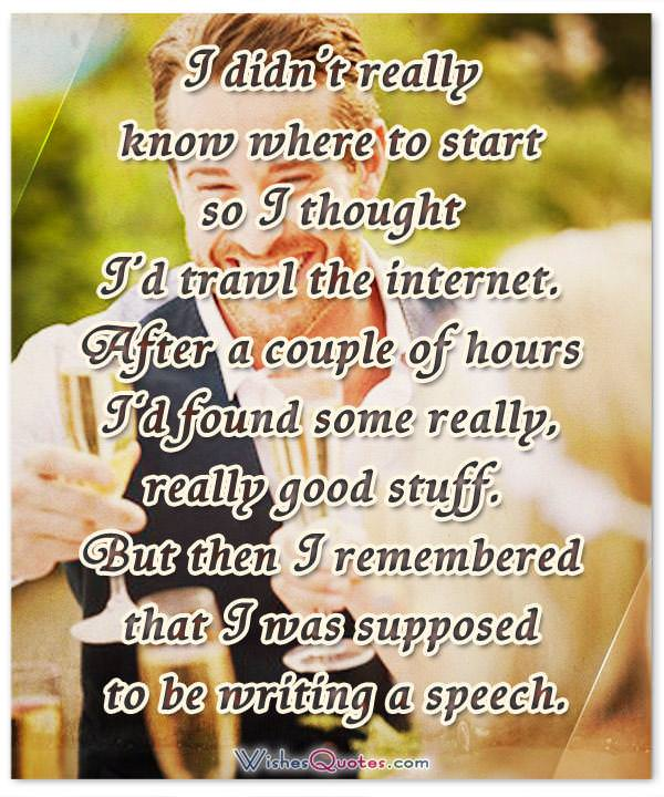 Best Man Wedding Speech Tips And Toast Examples By Wishesquotes