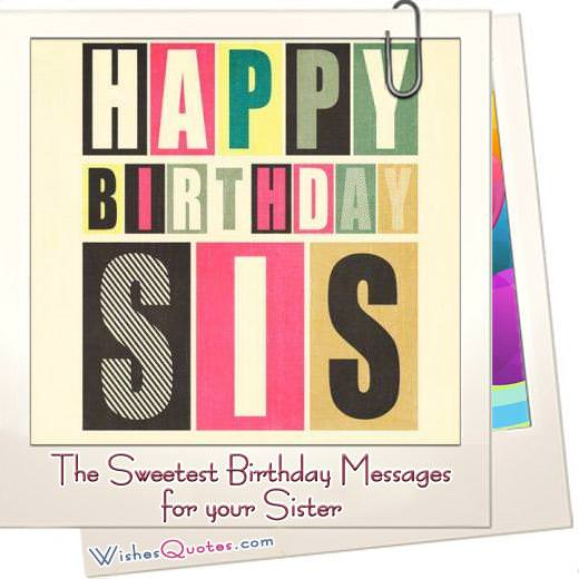Birthday Messages For Sister Featured Image