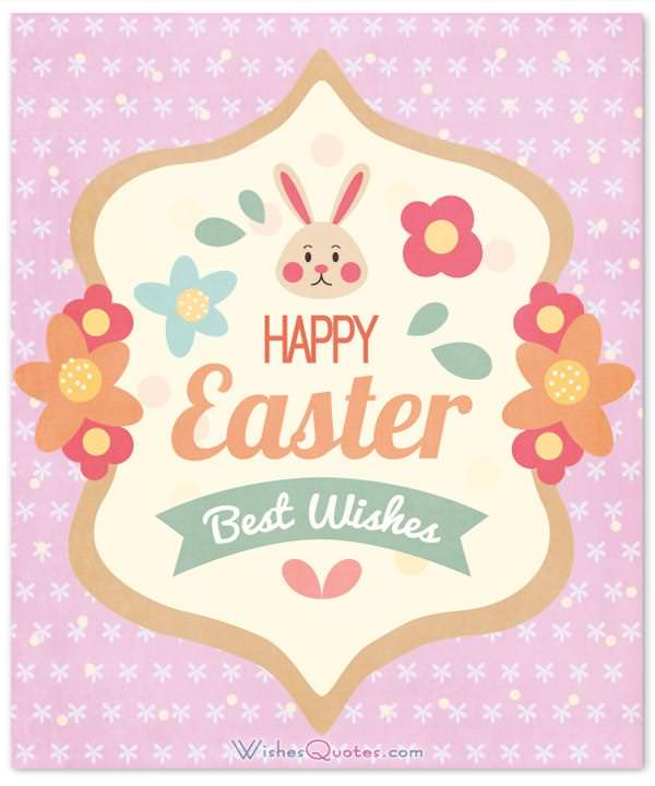 Happy Easter Best Wishes