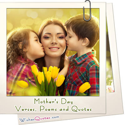 Mothers day verses poems