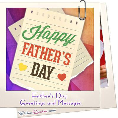 Heartfelt happy fathers day messages and cards m4hsunfo