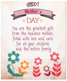 Mother the greatest gift