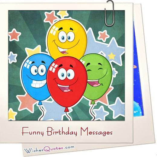 The Funniest And Most Hilarious Birthday Messages Cards