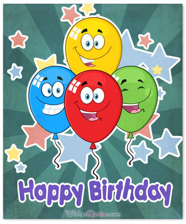 Funny Happy Birthday Wishes Cards