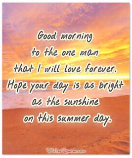 Bright as the sunshine good morning card