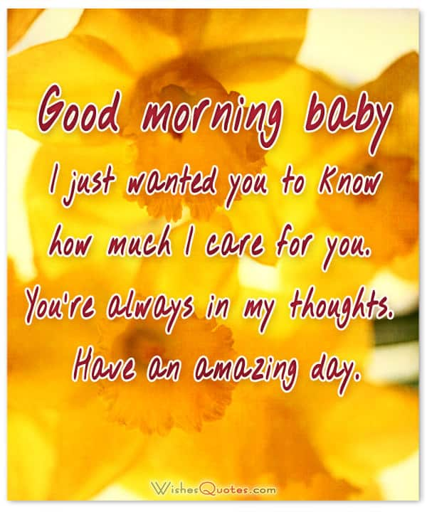 200 Sweet Good Morning Messages with Adorable Good Morning ...
