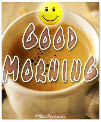 good morning smily face - Good morning messages, quotes and images