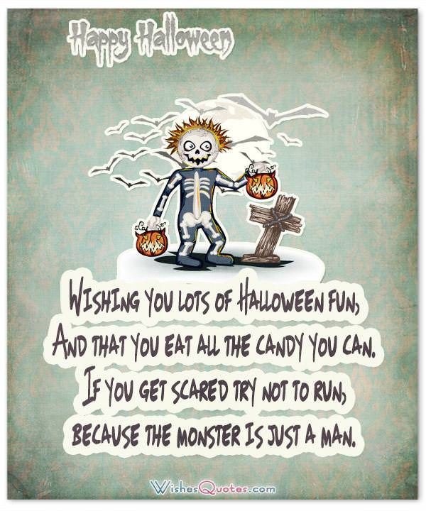 Happy Halloween My Love Quotes: 40 Funny Halloween Quotes, Scary Messages And Free Cards
