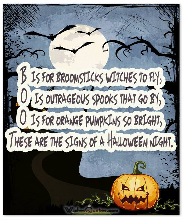 BOO These are the signs of a Halloween night