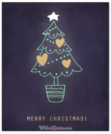 Merry Christmas - Christmas Greeting Card