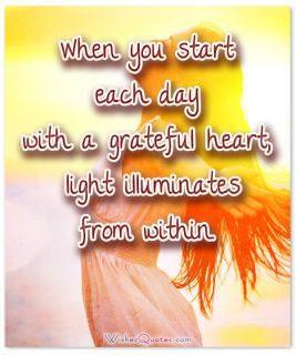 Day grateful heart