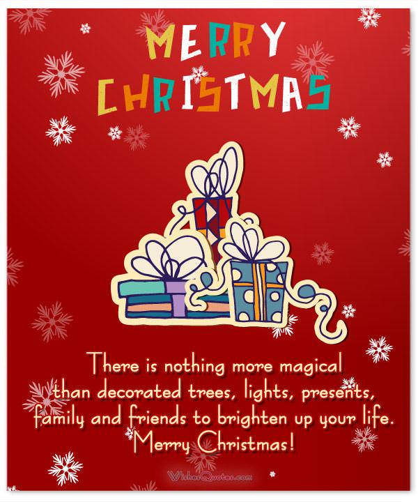 Merry Christmas Family.Christmas Messages For Friends And Family By Wishesquotes