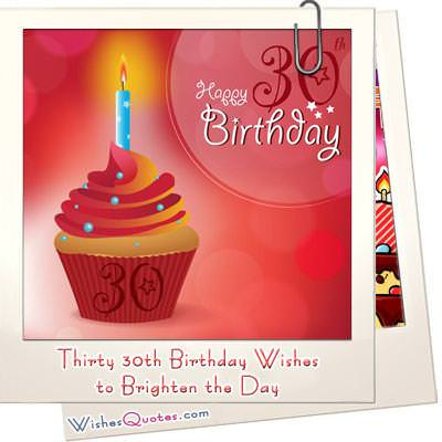 Thirty 30th Birthday Wishes to Brighten the Day – 30th Birthday Card Messages