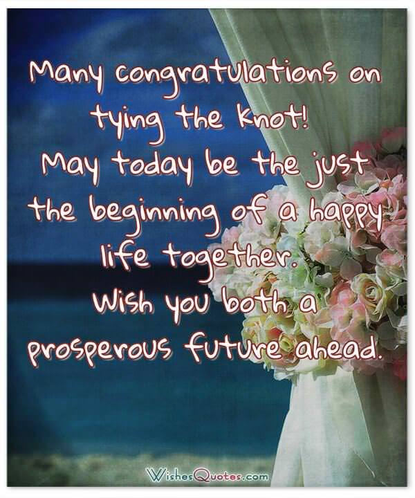 romantic wedding wishes and heartfelt cards for a newly married couple