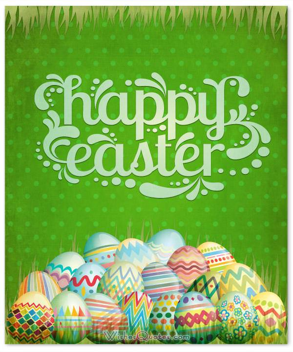Happy Easter Card For Friends And Family
