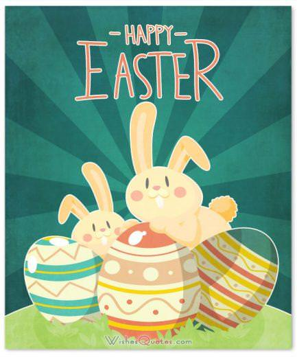 Happy Easter Cute Card