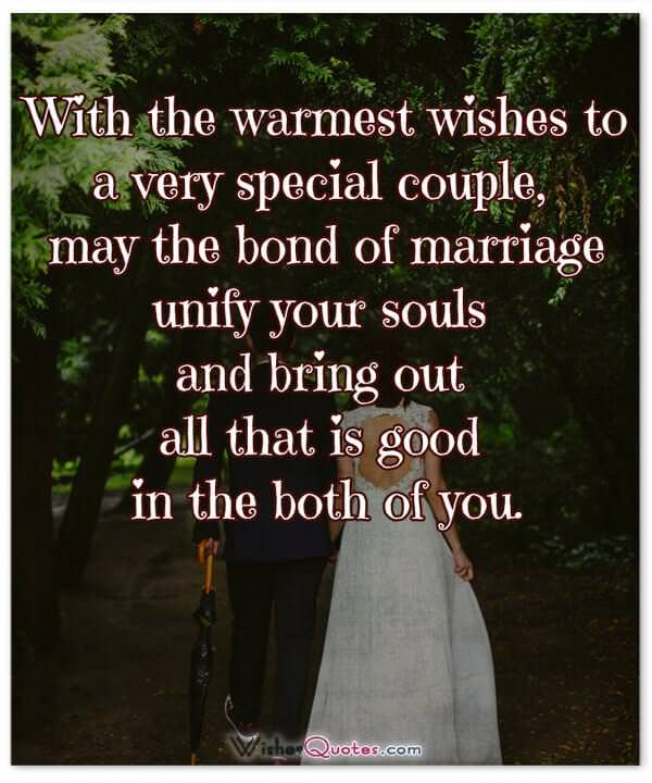 60 Inspiring Wedding Wishes And Cards For Couples That Inspire You Custom Marriage Wishes Quotes