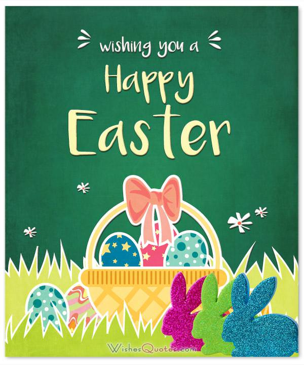 Wishing You Happy Easter