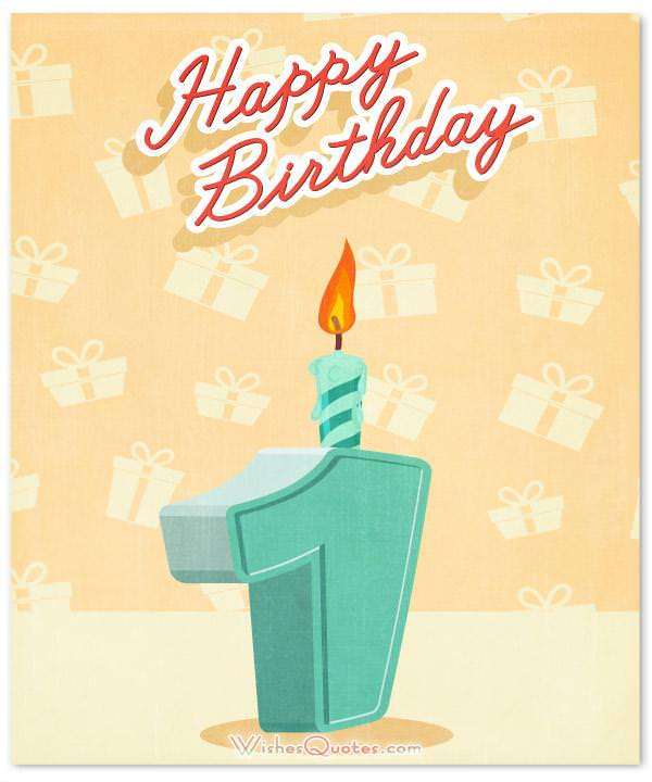 One Year Old Birthday Quotes: 1st Birthday Wishes And Cute Baby Birthday Messages