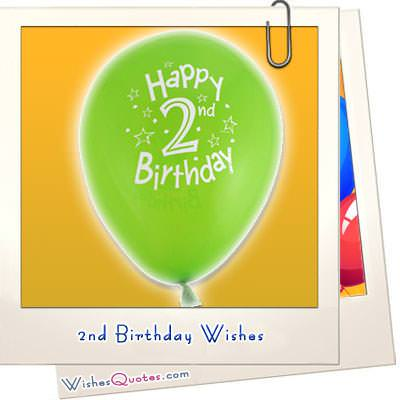 2nd Birthday Wishes Baby Turns Two WishesQuotes