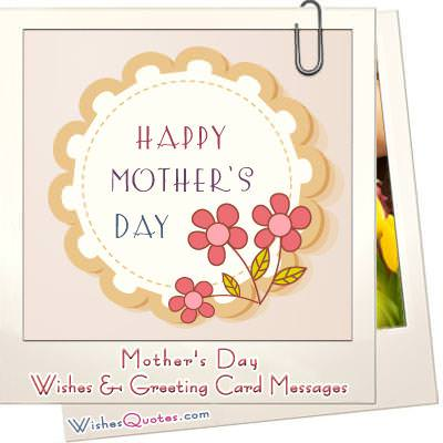 Mother's Day Wishes and Greeting Cards