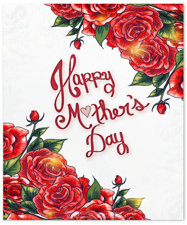 red-roses-mothers-day.Happy Mother's Day Wishes