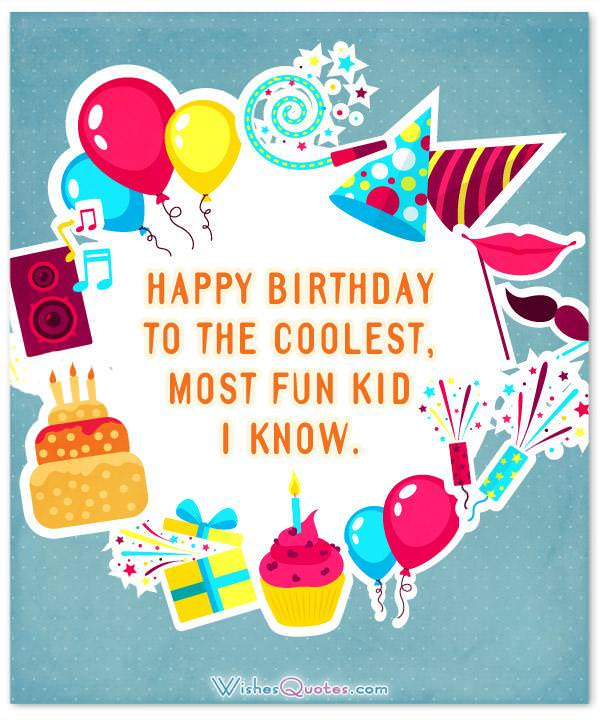 Kids Birthday Wishes Wishesquotes
