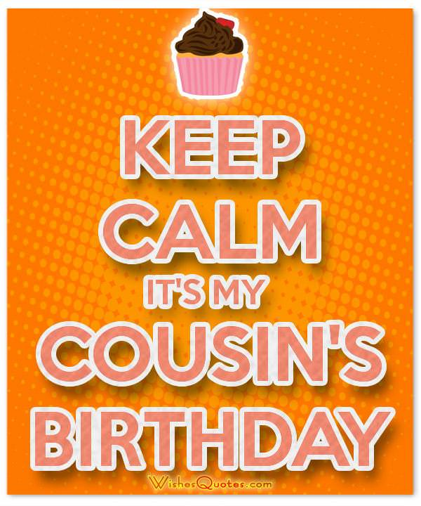 Birthday Messages For Your Awesome Cousin