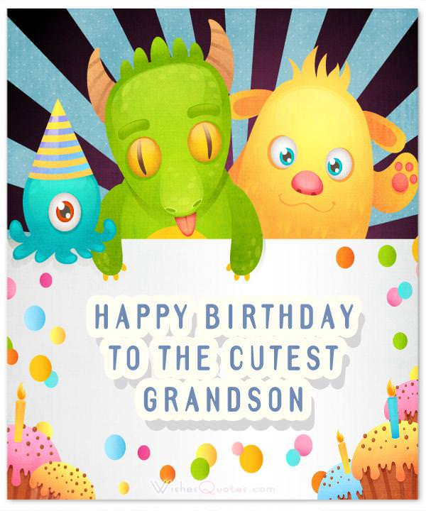 Happy birthday grandson images