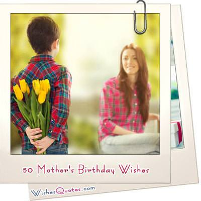 Mothers birthday wishes featured