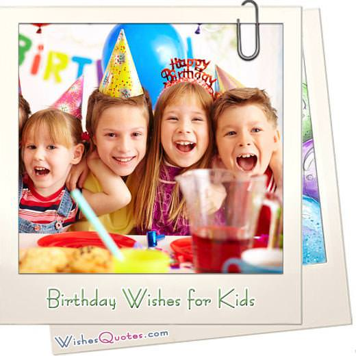 Birthday Wishes For Kids Featured