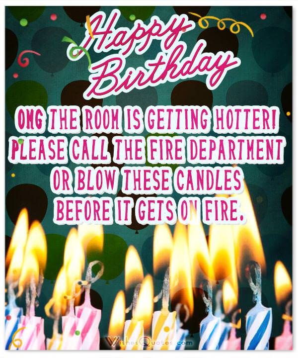 Funny Happy Birthday Greeting Card: Funny Birthday Wishes For Friends And Ideas For Maximum