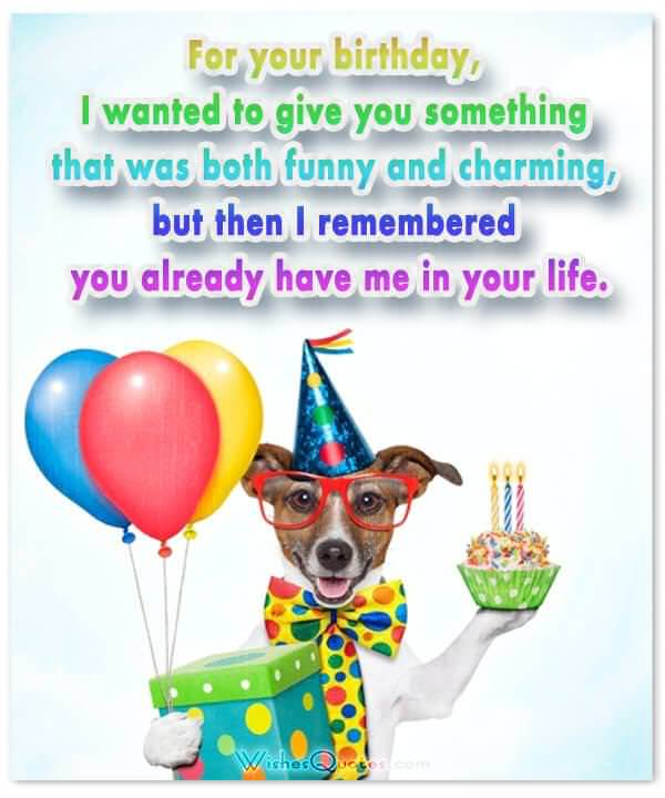 Funny Birthday Wishes for Friends and Ideas for Maximum Birthday Fun – Comical Birthday Greetings