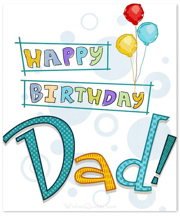 Fathers Birthday Wishes on hello world baby