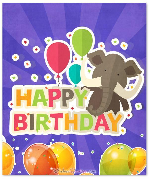 Happy Birthday For Kids