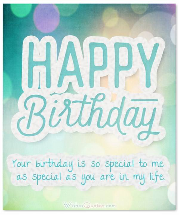 70 Cute Birthday Wishes For Your Charming Boyfriend WishesQuotes
