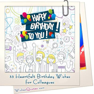 33 Heartfelt Birthday Wishes for Colleagues