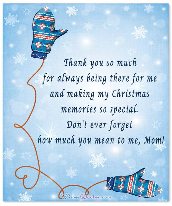 Christmas Message For Mom.20 Heartfelt Christmas Wishes For Special Moms By Wishesquotes