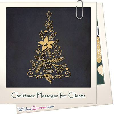 christmas messages for clients to build customer relationships
