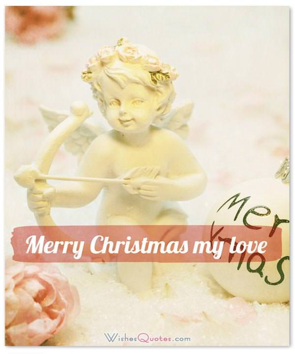 Christmas Love Wishes: Merry Christmas my love