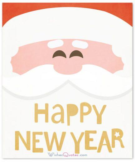 Happy New Year Card Wishes