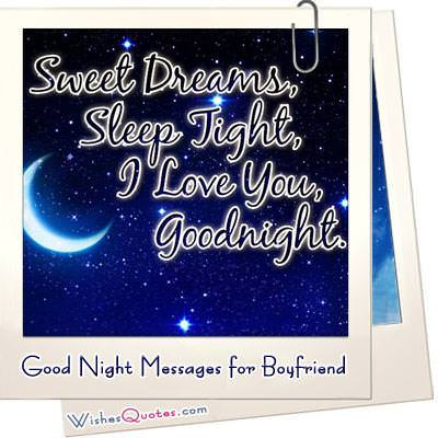 30 Dream-worthy Goodnight Messages for your Dreamboat